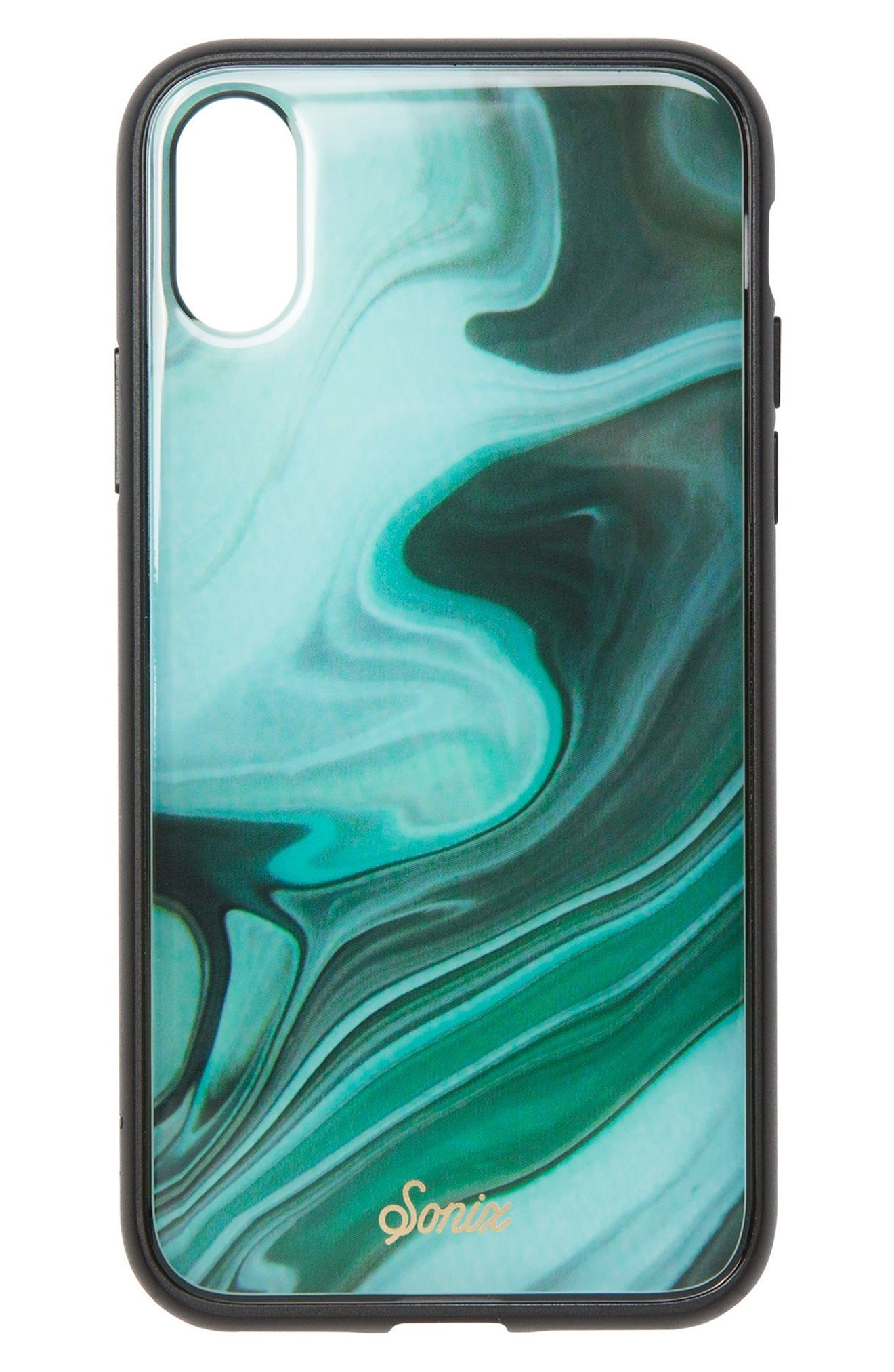 送料・関税込♪Sonix Jade Print iPhone X Case iphonケース
