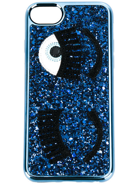 Chiara Ferragni glitter eye iphone 6/6s/7 cove iphone ケース