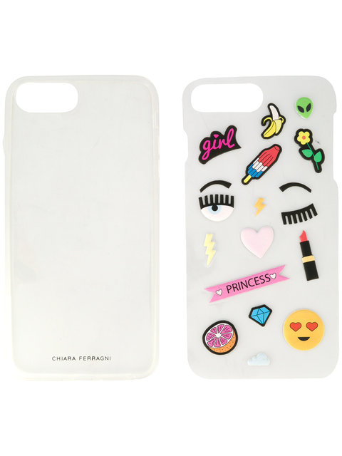 Chiara Ferragni iPhone 6 and 7 plus sticker ca iphone ケース