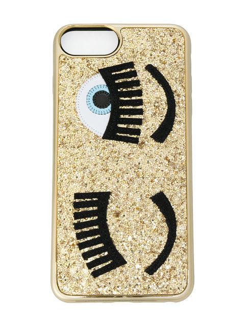 Chiara Ferragni Flirting glitter iPhone 6 Plus iphone ケース