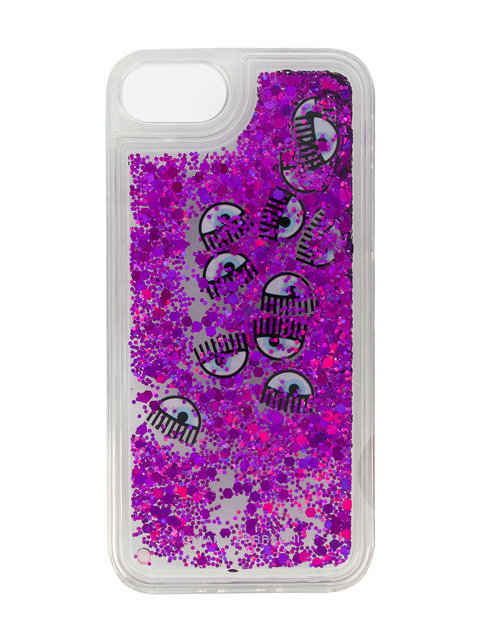 Chiara Ferragni Eyes glitter iPhone & case iphone ケース