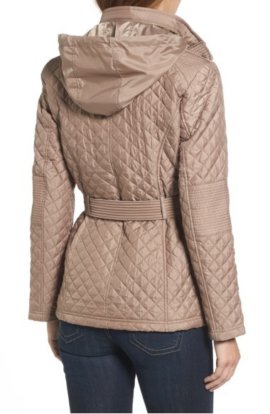 ☆MICHAEL Michael Kors Belted Quilted Jacket☆