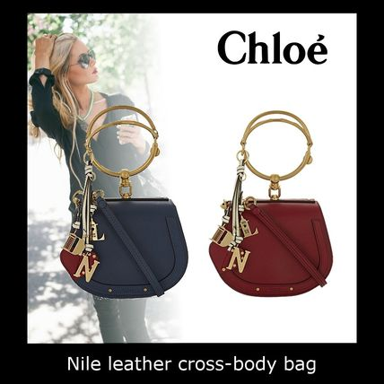 Chloe☆Nile leather cross-body bag☆☆ショルダーバッグ☆