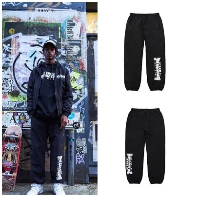 I AM NOT A HUMAN BEINGのArch Ver. Basic Logo Track Pant