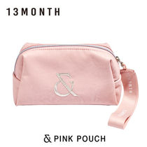 13MONTH(サーティーンマンス) メイクポーチ 13MONTH■PINK POUCH メイクポーチ