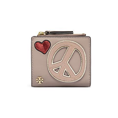 Xmasトリーバーチ/PEACE EMBELLISHED MINI WALLET/23760円