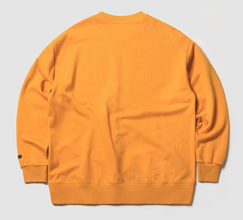 MFG FLAG ICON SWEAT SHIRT(YELLOW)