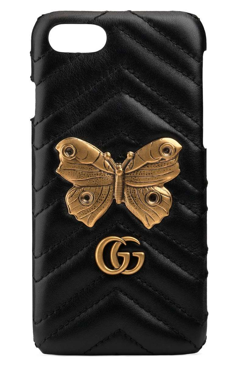 関税等込 GG Marmont 2.0 Matelasse Leather iPhone 7  ケース