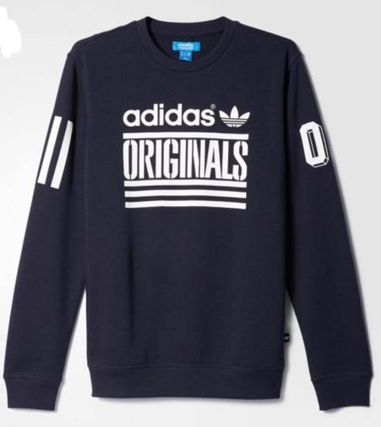 adidas Original Graphic Crew Sweater グラフィックスウェット