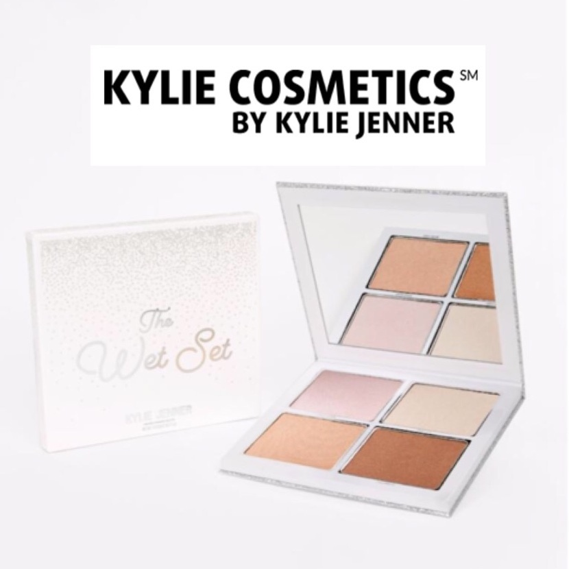 【KYLIE COSMETICS】ホリデー限定☆ハイライター☆THE WET SET☆
