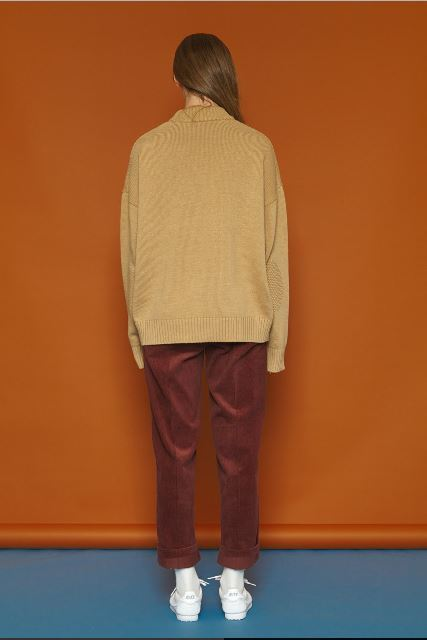 SLOW ACIDのColor Point Knit 全3色