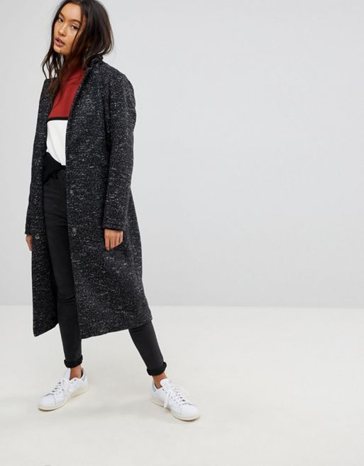送料込み☆ASOS Oversized Coat in Textured Fabric コート