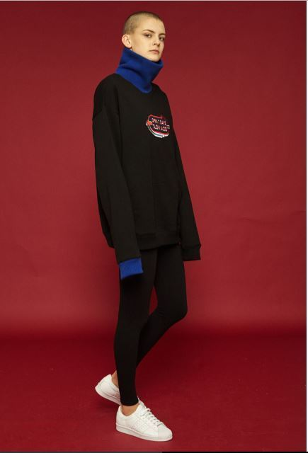 SLOW ACIDのTurtle sweatshirt