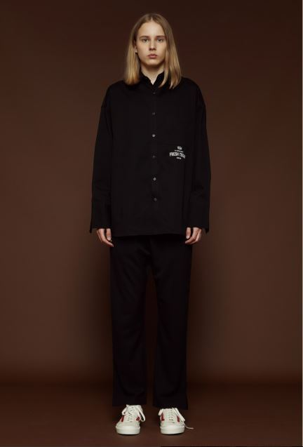 SLOW ACIDのLong Cuffs Shirt 全2色