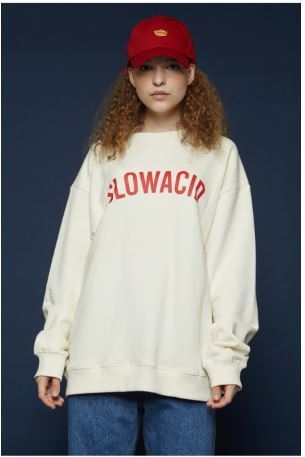 SLOW ACIDのArc Logo Sweatshirt 全4色