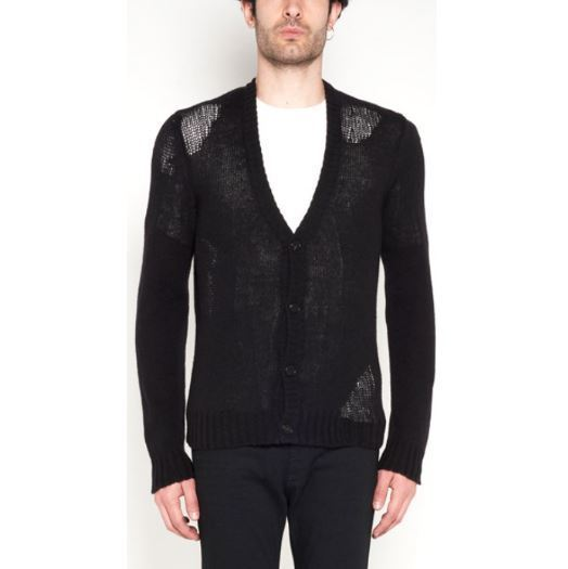 【Maison Margiela】WIde details cardigan with buttons