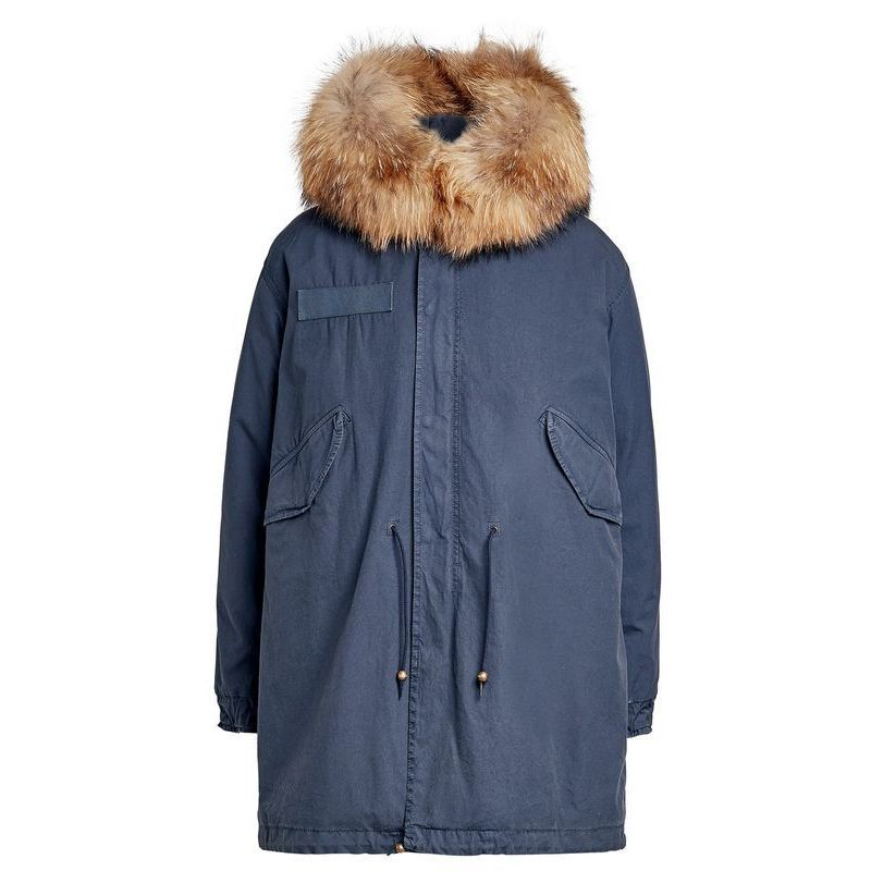 MR & MRS ITALY★Cotton Parka with Fur