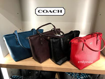 COACH★12月新作★MINI CITY ZIP TOTE 革製 F22967*長財布OK!