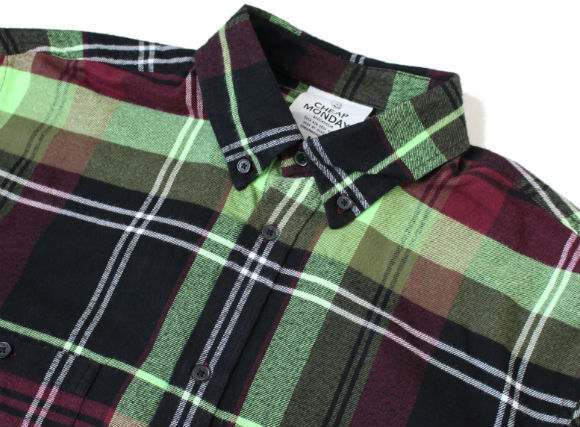 Cheap Monday Counduct 90's Check Shirt オーバーサイズシャツ
