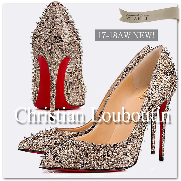 【Christian Louboutin】Escarpic 100 mm パイソン パンプス