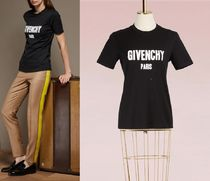 17AW☆GIVENCHY☆OVERSIZED DISTRESSEDプリントコットンTシャツ