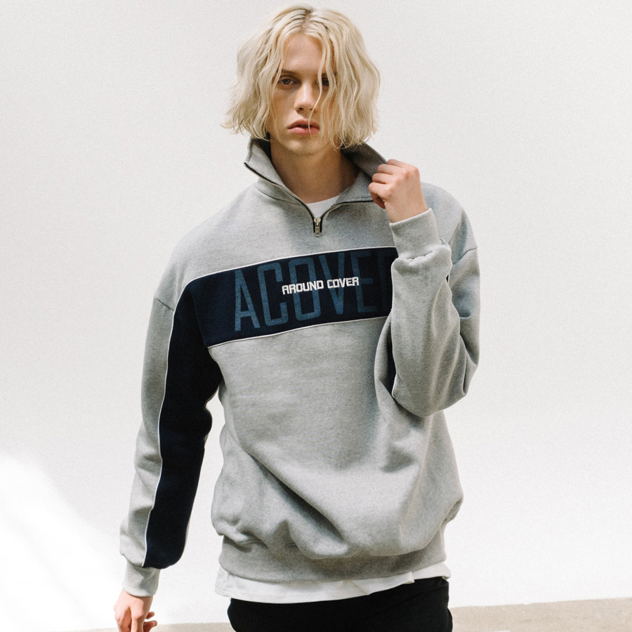 【ACOVER】オコボ ロゴ アノラック (4 color) - UNISEX