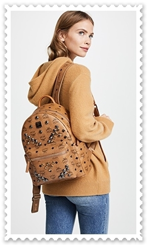 話題沸騰 ◇MCM◇ M Stud Small Stark Backpack 【関税送料込】