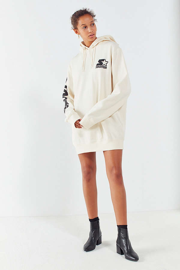 Starter Black Label + UO Oversized Sweatshirt Hoodie Dress