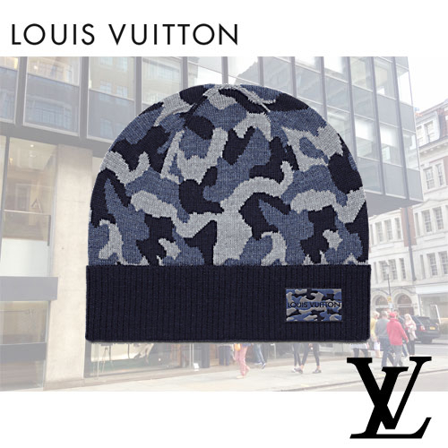 Louis Vuittonルイヴィトンmilitaire ボネ・ミリタリーニット帽