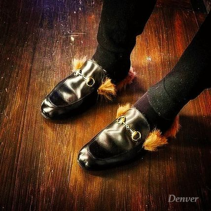 トレンド感抜群!Princetown leather slipper / GUCCI新作