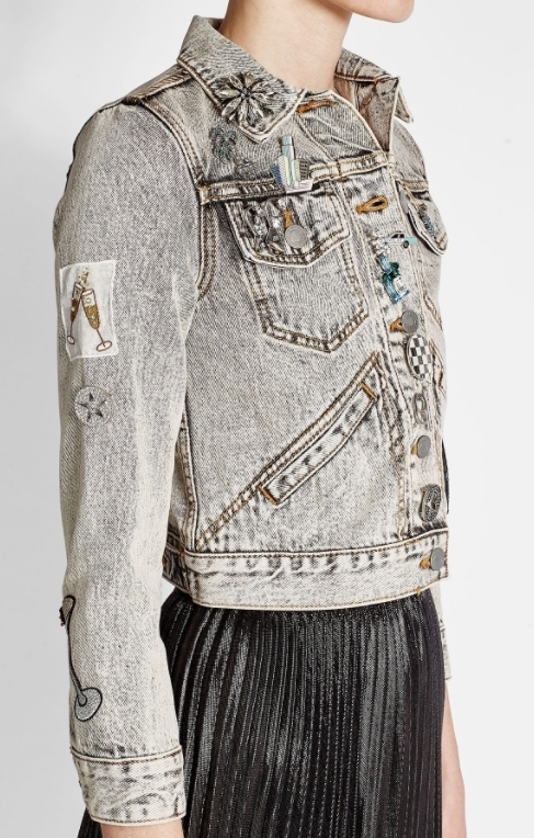 MARC JACOBS Shrunken Ecru Denim Jacket《関税・送料込》