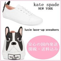 【国内発送】LUCIE LACE-UP SNEAKERS セール