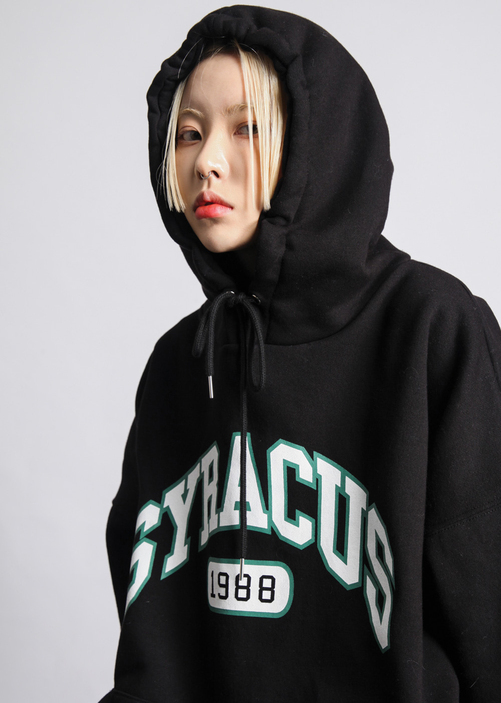☆OPEN THE DOOR☆ syracus boxy フーディ (2色展開) unisex
