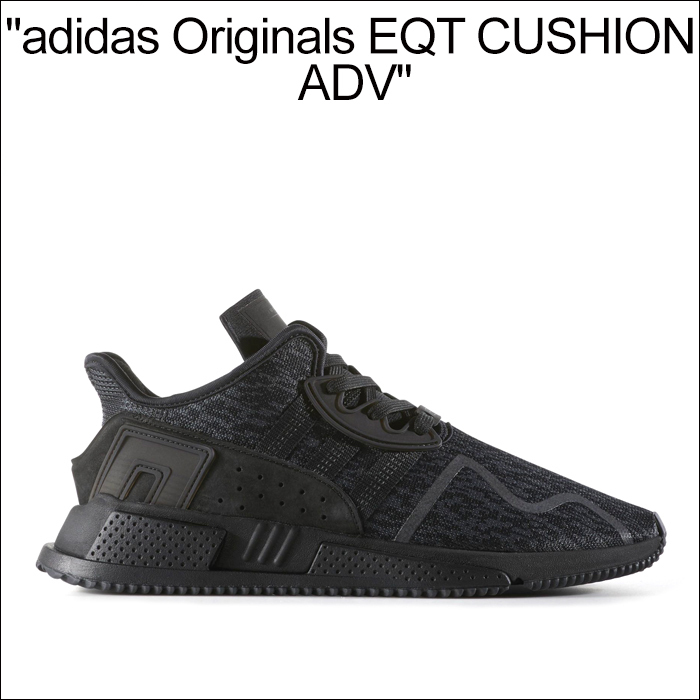 人気上昇中【Adidas】ORIGINALS EQT CUSHION ADV BLACK追跡付
