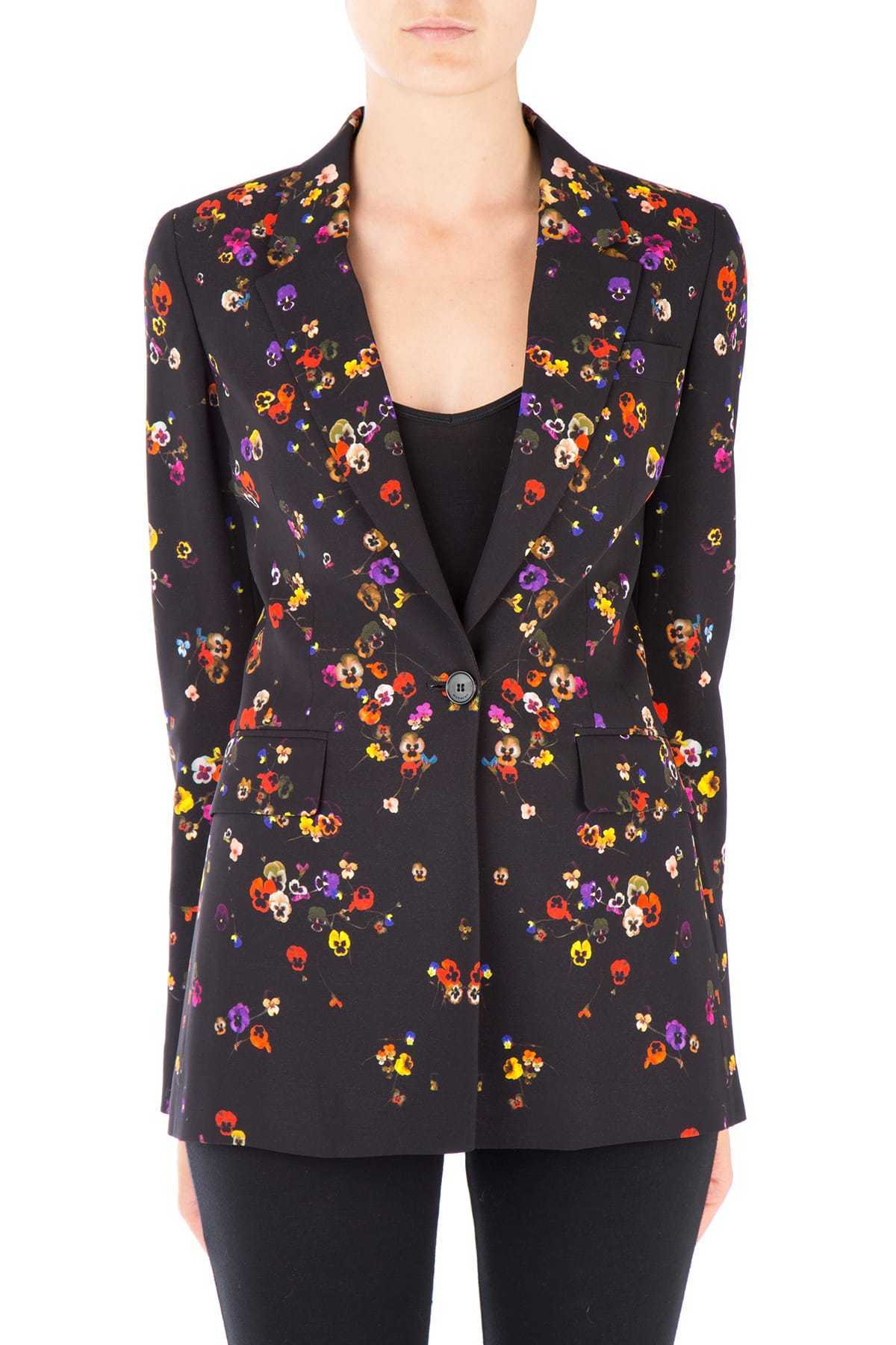 17-18AW G157 FLOWER PRINTED JACKET