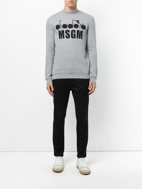 MSGM sweat a logo スウェット