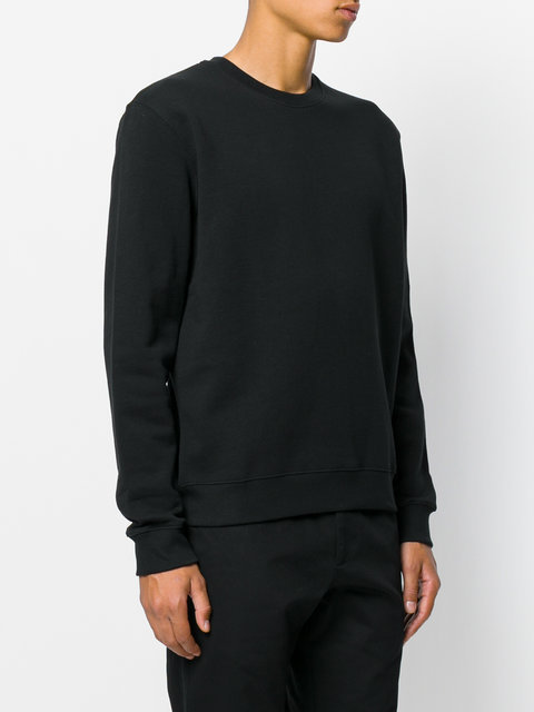 MSGM sweat a patch logo au dos スウェット