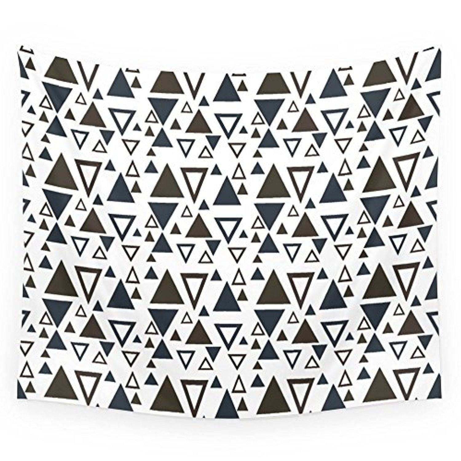 "Society6 Tribal Triangles Wall Tapestry Medium: 68"" x 80"""