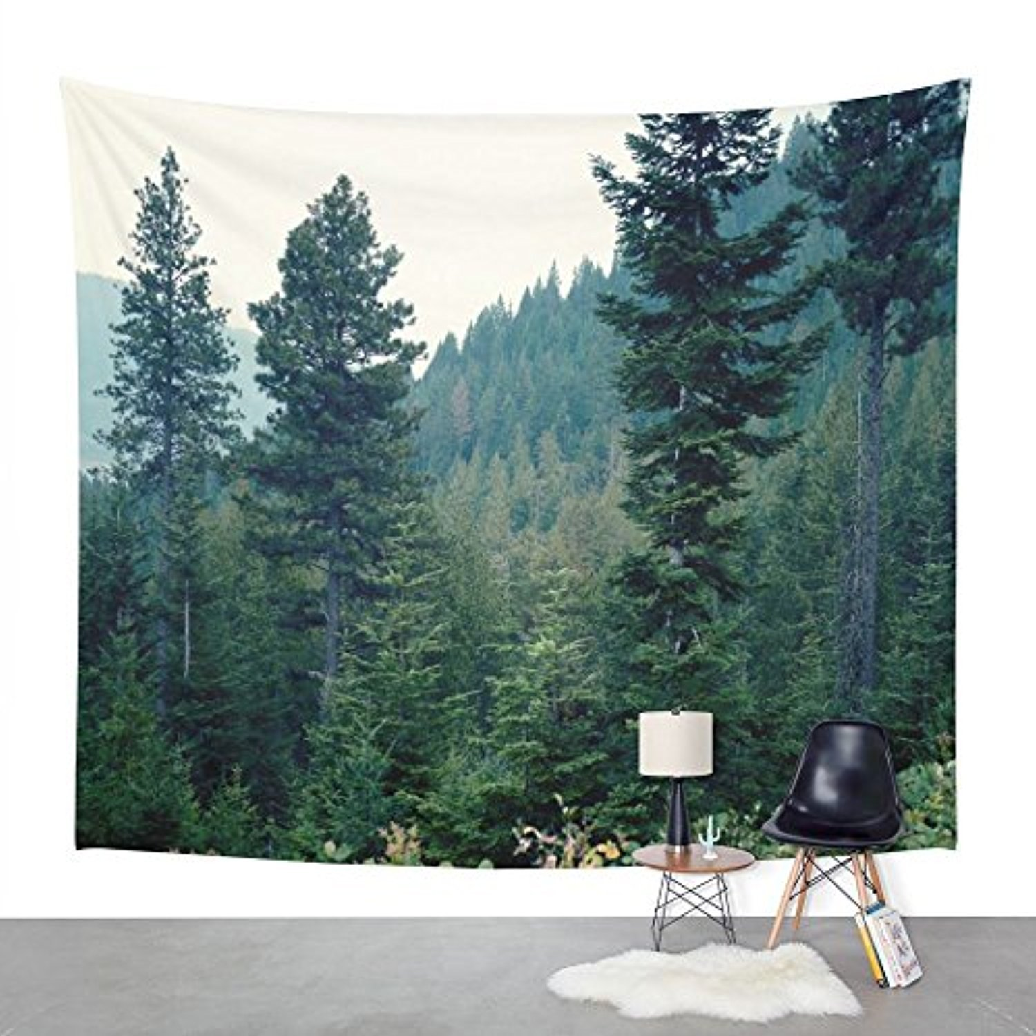 """Society6 Midnight Blues Wall Tapestry Large: 88"""" x 104"""""""