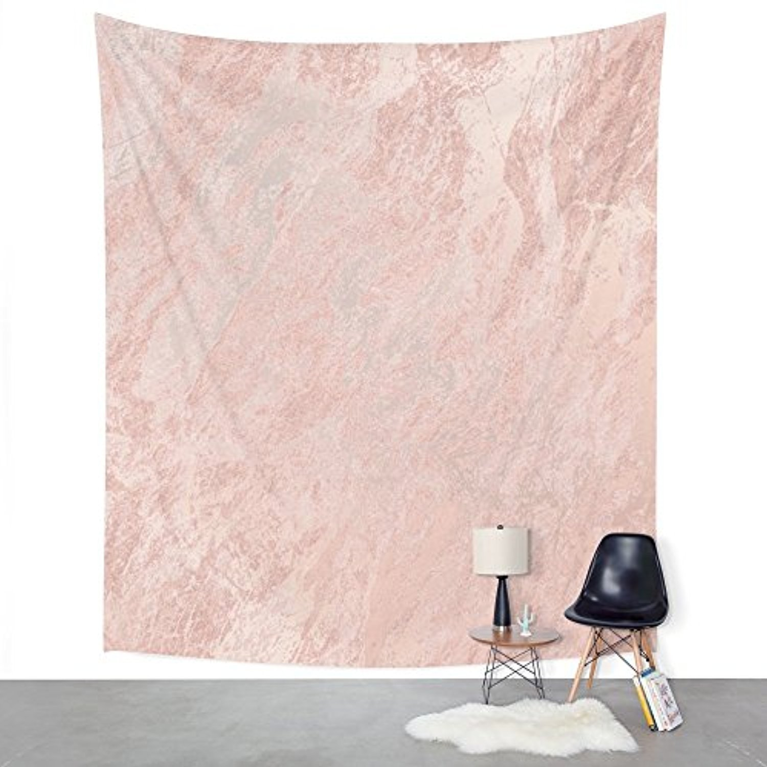 """Society6 Rose Gold Foil Wall Tapestry Large: 88"""" x 104"""""""