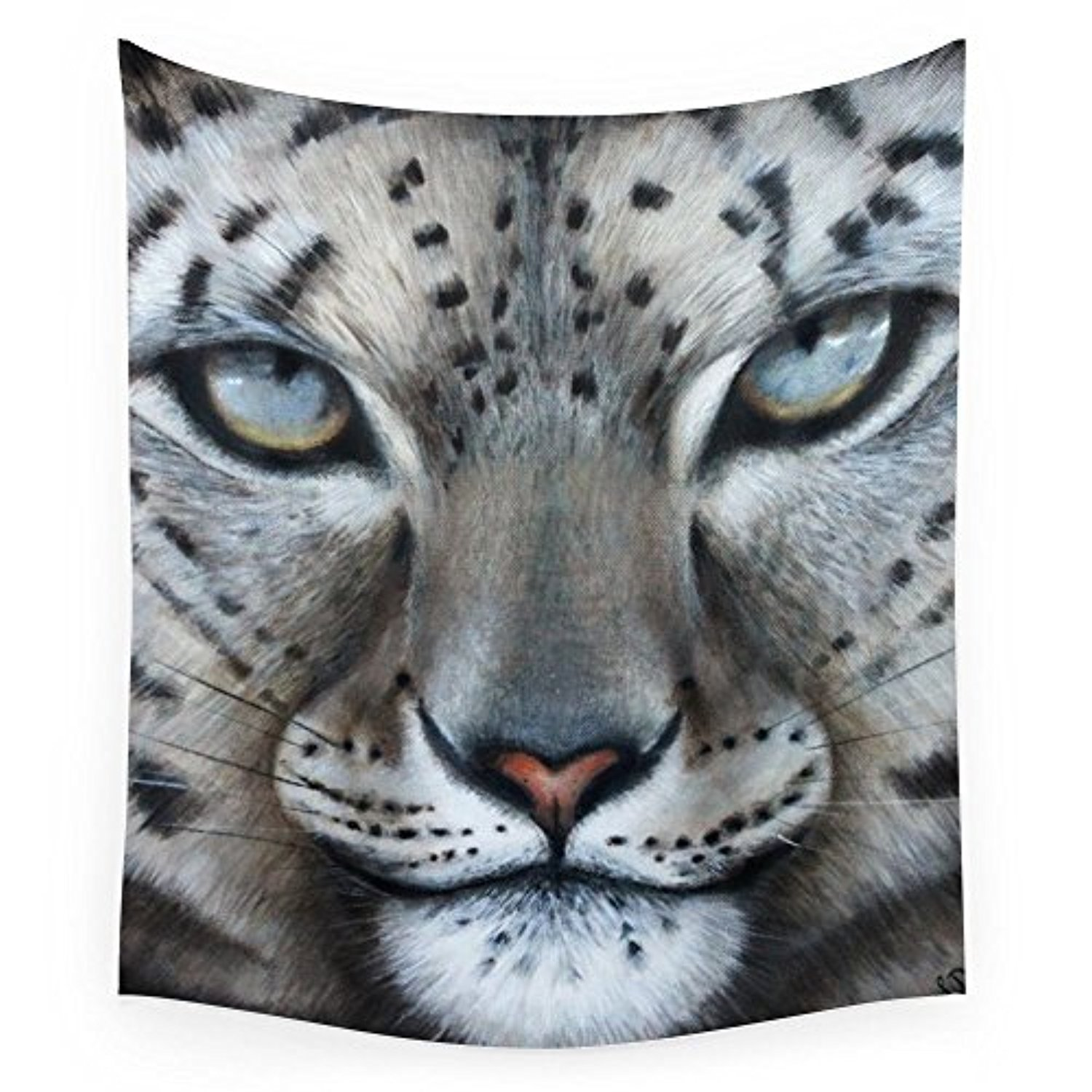 "Society6 Leopard's Prey Wall Tapestry Large: 88"" x 104"""