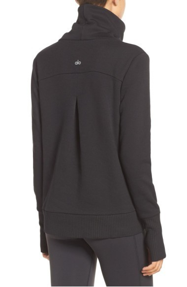 大人気 ALO Yoga Haze' Funnel Neck Sweatshirt スウェット