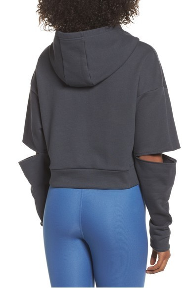 大人気 ALO Yoga Peak Cutout Long Sleeve Pullov スウェット