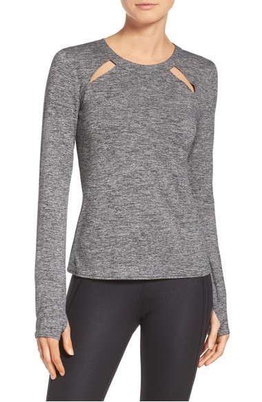 大人気 ALO Yoga Mantra Keyhole Top Tシャツ