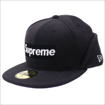 [国内即発] SUPREME New Era Polartec Ear Flap Cap Black 即納