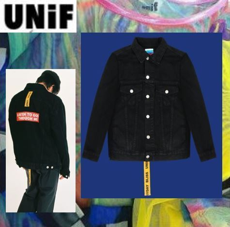 【UNIF】 ☆ LISTEN TO GOD JACKET ☆安心国内発送
