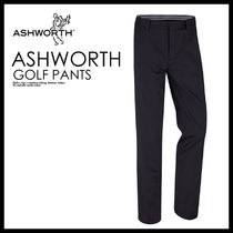 メンズ・ボトムス 即納★ASHWORTH★SYNTHETIC STRETCH FLAT FRONT PANT★B84423
