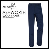メンズ・ボトムス 即納★ASHWORTH★SYNTHETIC STRETCH FLAT FRONT PANT★B84425
