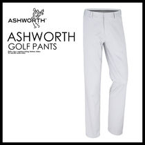 メンズ・ボトムス 即納★ASHWORTH★SYNTHETIC STRETCH FLAT FRONT PANT★B84427