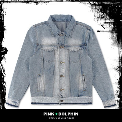 ★国内送関込【PINK DOLPHIN】DENIM TRUCKER JACKET
